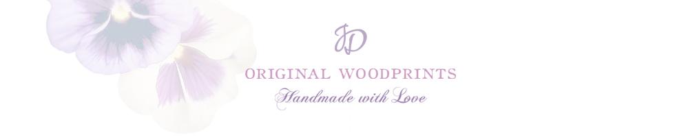 Jean Donnelly Original Woodprints